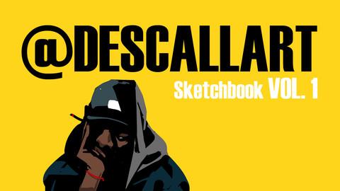@DESCALLART Sketchbook.