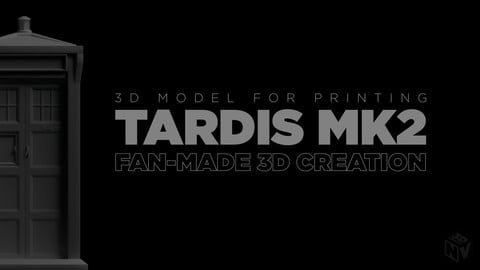 TARDIS MK2 - Nebula Vision - 3D Impression