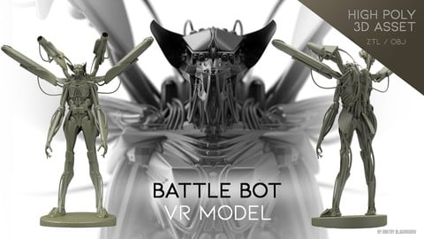"""Battle Bot"" VR model"