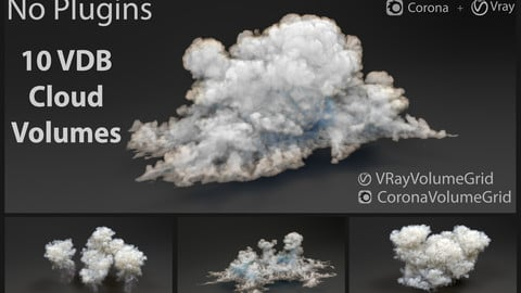 clouds - 3D Volumetric cloud