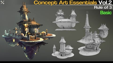 Concept Art Essentials Vol.2