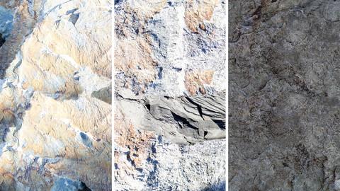 Photoscanned Rocks Brushes