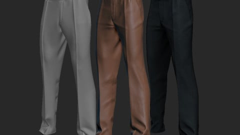 pants (Marvelous Designer Video and game ready File)