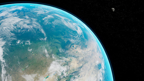 Unreal Engine Earth Ultra-realistic