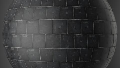 Procedural Space Shuttle Tiles