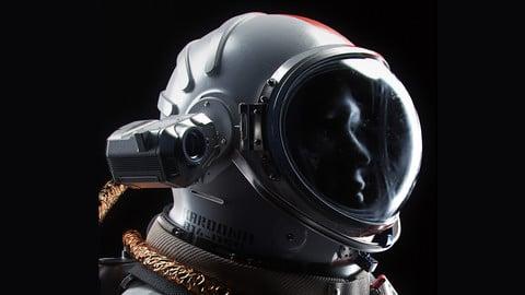 "Cosmonaut ""Orel""- FBX, 3ds Max, Blender"