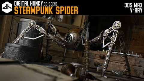 Steampunk Spider