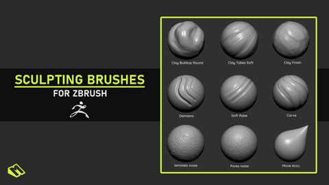 ZBrush Sculpting Brushes
