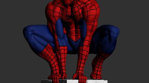 Spiderman-Pose