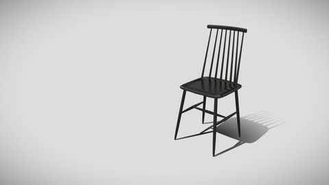 Tressia wooden chair