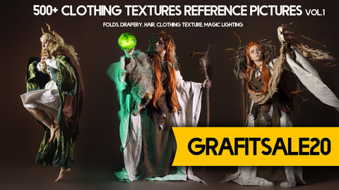 20% OFF - GRAFITSALE20 - 500+  Clothing Textures Reference Pictures