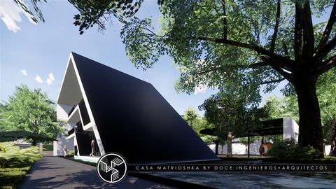 Matrioshka house - Autodesk Revit 3D model