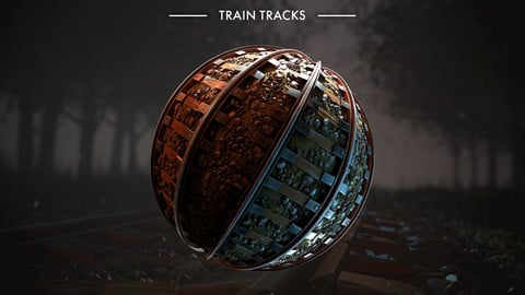 Substance Designer Tutorial - Train Tracks