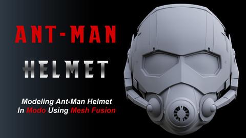 Modeling Ant-Man Helmet In Modo Using Mesh Fusion