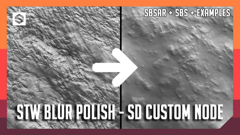STW Blur Polish - Substance Designer Custom Node