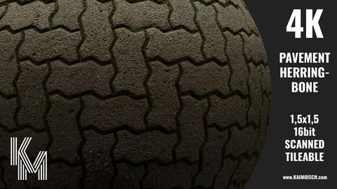 013 Pavement Herringbone   Scanned Material