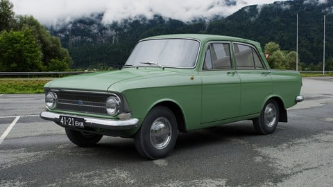 IZH Moskvitch-412IE 1967