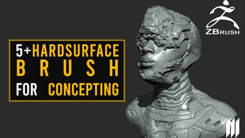 5 + Hard Surface Brushes For Concepting