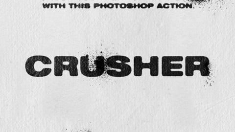 CRUSHER - Photoshop Action