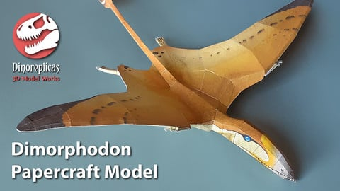 Dimorphodon Papercraft Model