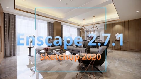 SPONSOR DOWNLOAD | Enscape 2.7.1 | SKETCHUP 2016 LIVINGROOM light turn on