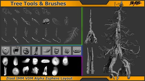 Tree Tools & Brushes