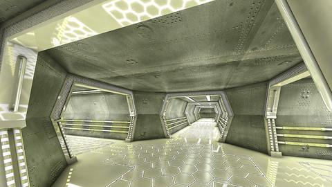 Sci Fi Modes Corridor 3D model
