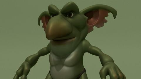 Cartoon Fantasy Monster