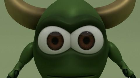 Cartoon Monster Lewis