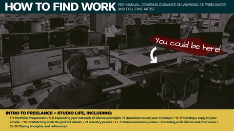 How to find work (in Video-Games) - Guide