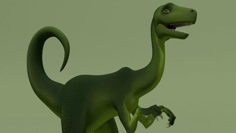 Rigged Fantasy Dino
