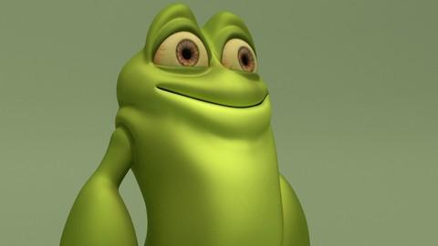 Cartoon Monster Froggy