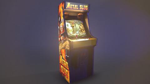Arcade Cabinet (.obj + textures)