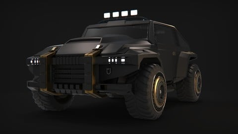 Sci-Fi Vehicle Concept