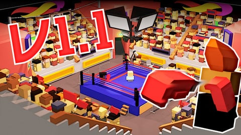 Boxing Low poly pack