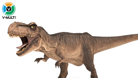 Tyrannosaurus Rex Rigged