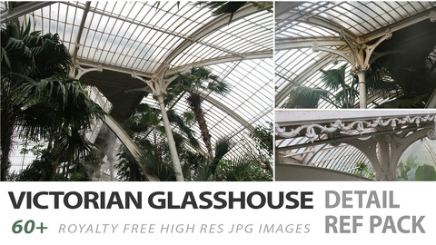 Victorian Glasshouse - detail reference pack