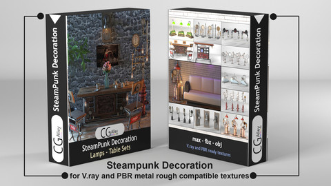Steampunk Decoration collection