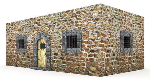 Medieval Castle Door