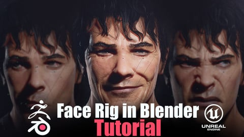 |TUTORIAL| Face Rigging in Blender