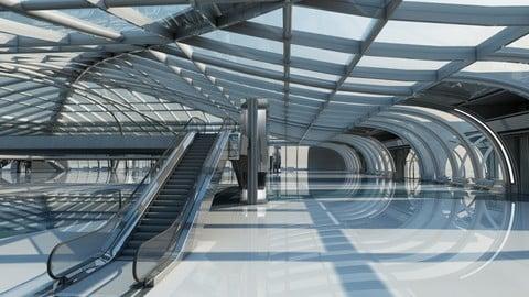 Futuristic Architectural Structure