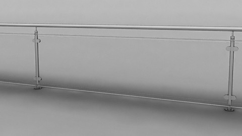 Iron & Glass Railing