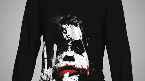 Marvelous Designer,Clo3d project | Jocker Sweater