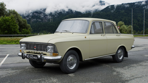 AZLK Moskvitch-412IE 1972