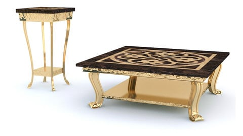 Classic Coffee Table Set
