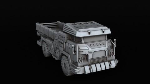 BATTLETECH Cargo Truck 3D print model