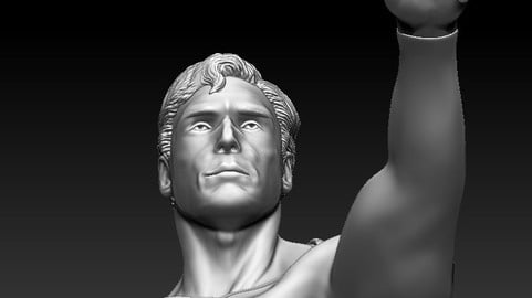 Superman Christpher Reeve 1978 in Zbrush ZPR