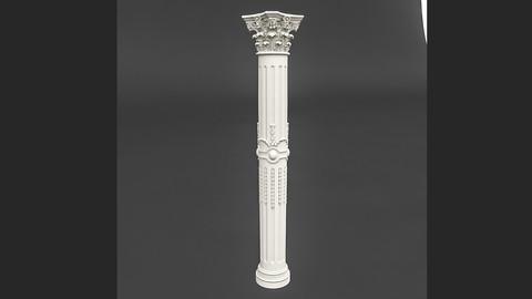 classic pattened column 01