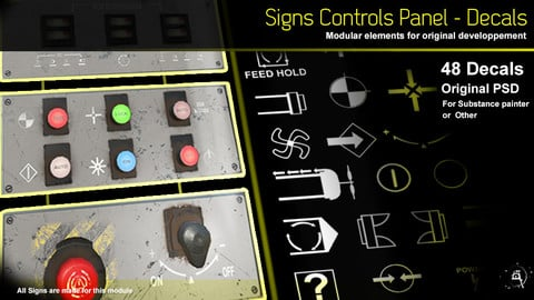 48 Signs Control Panel