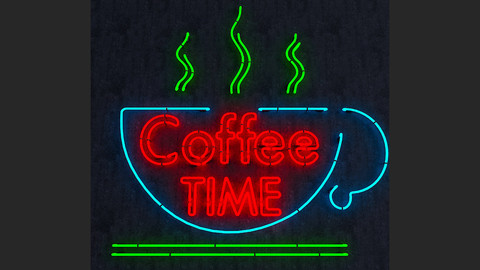 Coffee Time Neon Sign